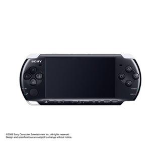 プレイステーションポータブル(PlayStation Portable)のPSP3000 ピアノ・ブラック本体(携帯用ゲーム本体)