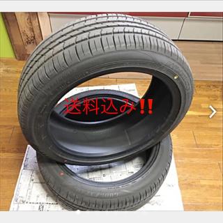 グッドイヤー(Goodyear)の【送料込み】  中古タイヤ2本  225/45/18(タイヤ)