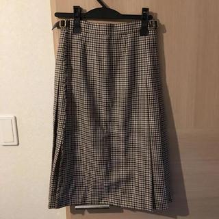 アクアスキュータム(AQUA SCUTUM)の新品未使用!英国製 アクアスキュータム ラップスカート(ひざ丈スカート)