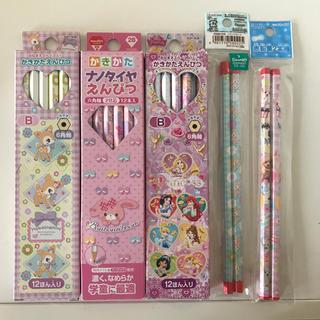 ディズニー(Disney)の鉛筆 セット B 2B 赤エンピツ  ディズニープリンセス  (鉛筆)