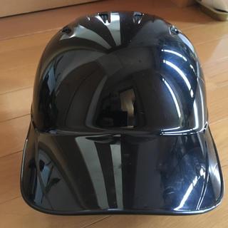 ミズノ(MIZUNO)の★ミズノ 軟式ヘルメット1DJHR101【両耳用】ブラック★ヒロカズ様専用(防具)