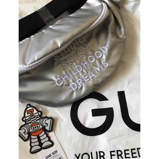 GU(ジーユー)のGU×SEVEN ウエストポーチ メンズのバッグ(ウエストポーチ)の商品写真