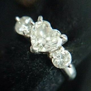 まい様 1cz ダイヤモンド  リング 指輪 1カラット 鑑定書(リング(指輪))