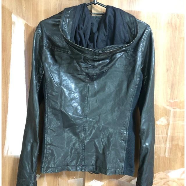 BUFFALO BOBS(バッファローボブス)のバッファローボブズ ライダースジャケット レザー メンズのジャケット/アウター(レザージャケット)の商品写真