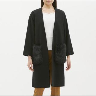 ジーユー(GU)の新品未使用  ガウンコート《スカート付き》(ガウンコート)