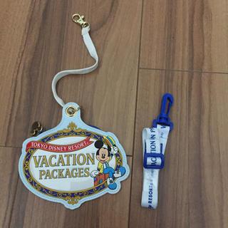 ディズニー(Disney)のディズニー バケーションパッケージ チケットホルダー(遊園地/テーマパーク)