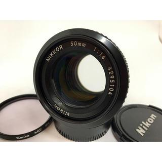 Nikon - Nikon Nikkor Ai 50mm f 1.4 レンズ