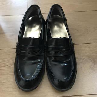 ジーユー(GU)の黒 ローファー(ローファー/革靴)