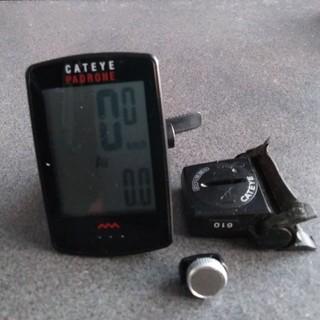 キャットアイ(CATEYE)のCATEYE PADRONE+ センサーセット サイクルコンピューター (パーツ)
