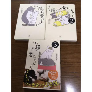 カドカワショテン(角川書店)のうちの猫がまた変なことしてる。1巻〜3巻セット(その他)