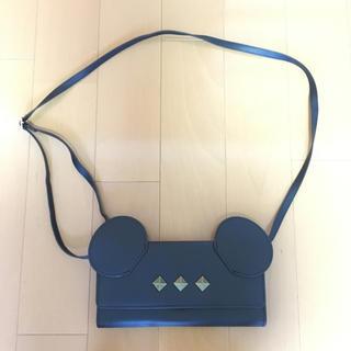 ディズニー(Disney)のミッキー耳付ショルダーバッグ(ショルダーバッグ)