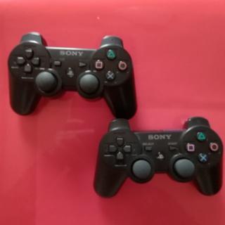 プレイステーション3(PlayStation3)のPS3コントローラー  2個セット(家庭用ゲーム本体)