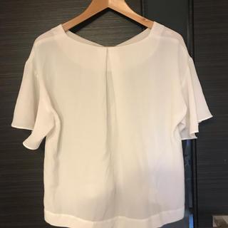 ジーユー(GU)のGU ドレープブラウス(シャツ/ブラウス(半袖/袖なし))