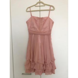 エメ(AIMER)のAIMER ドレス 結婚式 パーティー ワンピース ピンク(ミディアムドレス)