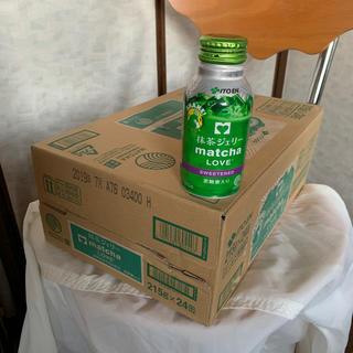 イトウエン(伊藤園)の値下げ可❗️抹茶ジェリー黒糖蜜入り215g×24缶 一箱(茶)