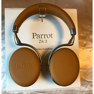 ボーズ(BOSE)のParrot Zik 3 ヘッドフォン キャメルレザー 美品(ヘッドフォン/イヤフォン)