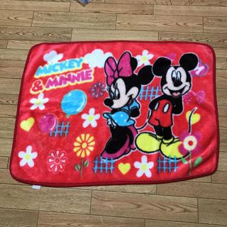 ディズニー(Disney)のミッキー&ミニー ブランケット(おくるみ/ブランケット)
