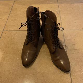 アシナガオジサン(あしながおじさん)の美品ショートブーツapres(ブーツ)