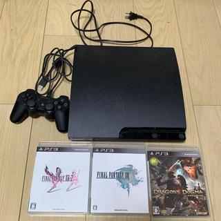プレイステーション3(PlayStation3)のps3とソフト3本(家庭用ゲーム本体)