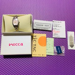 シチズン(CITIZEN)のCITIZEN Wicca E031-S085667 レディース (腕時計)