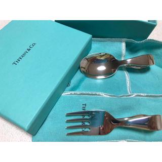 ティファニー(Tiffany & Co.)のTiffany ティファニー ベビー ベビースプーン 出産祝い(スプーン/フォーク)