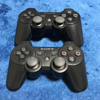 プレイステーション3(PlayStation3)のPS3 コントローラー2個 ジャンク(家庭用ゲーム本体)