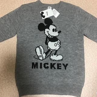 ディズニー(Disney)のミッキー ニット(ニット/セーター)