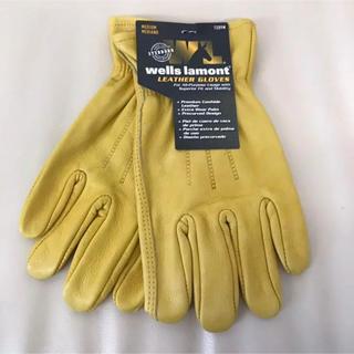 コストコ(コストコ)の【送料無料】 ウェルズ ラモント レザーワークグローブ 1ペア 革手袋(手袋)