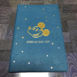 ディズニー(Disney)の【新品未使用!】ミッキー スケジュール帳 2019(カレンダー/スケジュール)