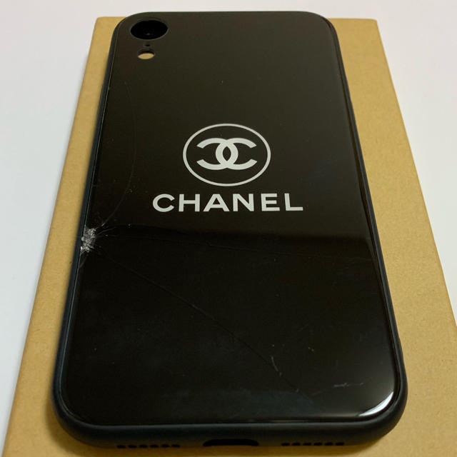 CHANEL iphoneケース iphonexrの通販 by lovesea shop|ラクマ