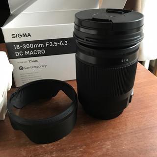 シグマ(SIGMA)のSigma C 18-300mm F3.5-6.3 シグマ用(レンズ(ズーム))