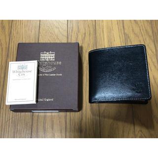 ホワイトハウスコックス(WHITEHOUSE COX)のホワイトハウスコックス ユナイテッドアローズ別注 二つ折り財布 ウォレット 新品(折り財布)