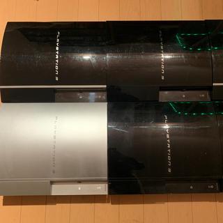 プレイステーション3(PlayStation3)のPS3 5台 断捨離(家庭用ゲーム本体)
