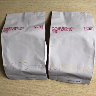 ミシャ(MISSHA)のミシャ クッションファンデ カバーラスティング 21(ファンデーション)