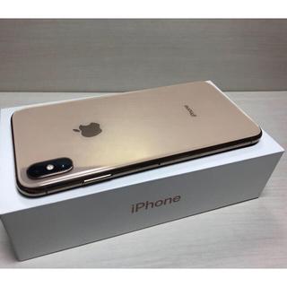アイフォーン(iPhone)のiPhone Xs Max 256GB ゴールド ドコモ 赤ロム (スマートフォン本体)