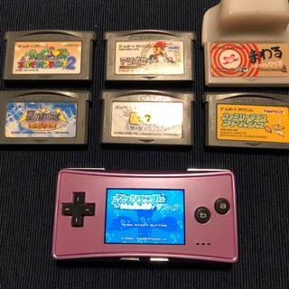ゲームボーイアドバンス(ゲームボーイアドバンス)のゲームボーイミクロ(携帯用ゲーム本体)
