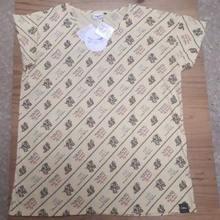 ディズニー(Disney)の新品タグ付き 黄色 チップとデール ビッグTシャツ Lサイズ(Tシャツ(半袖/袖なし))