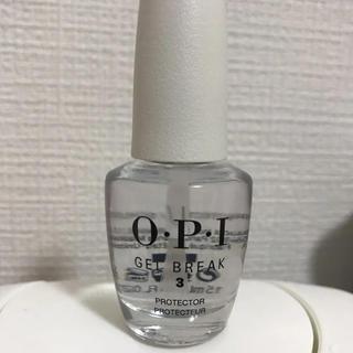 オーピーアイ(OPI)のO・P・I ジェルブレイク プロテクター トップコート NTR02 (ネイルトップコート/ベースコート)