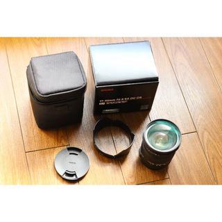 シグマ(SIGMA)のシグマ 17-50㎜ F2.8 EX DC OS HSM キヤノンマウント超美品(レンズ(ズーム))