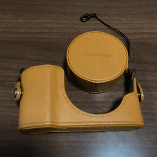 オリンパス(OLYMPUS)の本革レンズジャケット 本革ボディジャケットセット(その他)