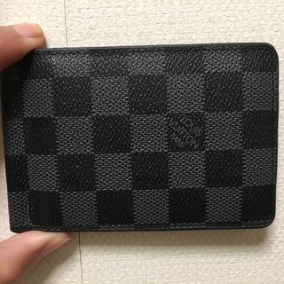 ルイヴィトン(LOUIS VUITTON)のルイヴィトン マネークリップ  折りたたみ財布(マネークリップ)