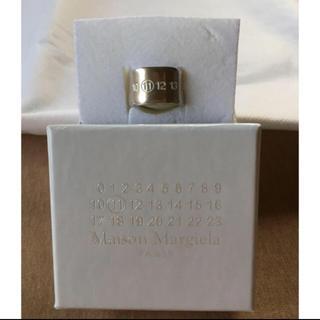 マルタンマルジェラ(Maison Martin Margiela)の値下17AW新品M マルジェラ ナンバリング シルバー リング(リング(指輪))