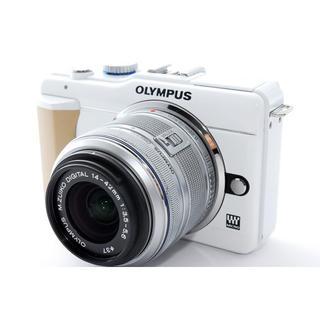 OLYMPUS - ☆シンプルな操作性♪WiFiカード付き☆オリンパス E-PL1s ホワイト