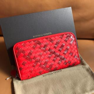 Bottega Veneta - 【激レア/早い者勝ち】新品未使用!ボッテガヴェネタ カーフ×パイソン財布