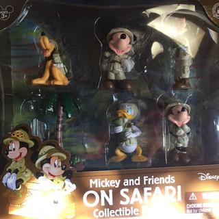 ディズニー(Disney)のカリフォルニアディズニーランド購入  コレクタブルフィギュア サファリセット(フィギュア)