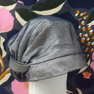 ミサハラダ(misaharada)のミサハラダ シルク帽子 misaharada(ハンチング/ベレー帽)