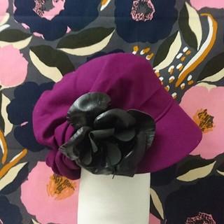 ミサハラダ(misaharada)のミサハラダ ウール帽子 misaharada(ハンチング/ベレー帽)