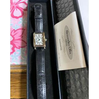 アレッサンドラオーラ(ALESSANdRA OLLA)のALESSANDRA OLLA FIRENZE 腕時計(腕時計)