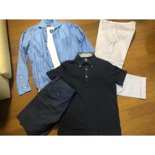 スーツカンパニー(THE SUIT COMPANY)のSUIT COMPANYセット シャツ Tシャツ パンツ スーツカンパニー S(ポロシャツ)