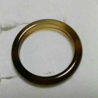 15号 左上6【数量限定  細い瑪瑙リング】 天然石メノウ リング(リング(指輪))